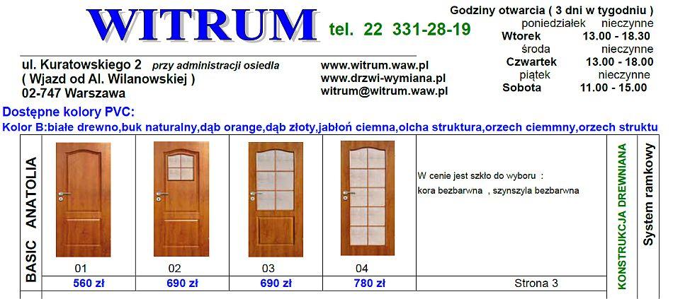 Drzwi Wewnetrzne Na Stare Futryny Felc 20 Mm 26mm Montaz